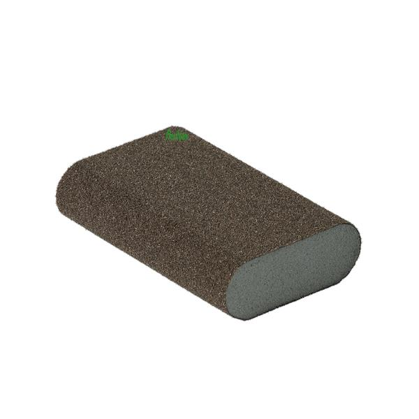 FlexiFoam Round Block Шлифовальный блок 98х69х26mm P60 / FlexiFoam Round Block
